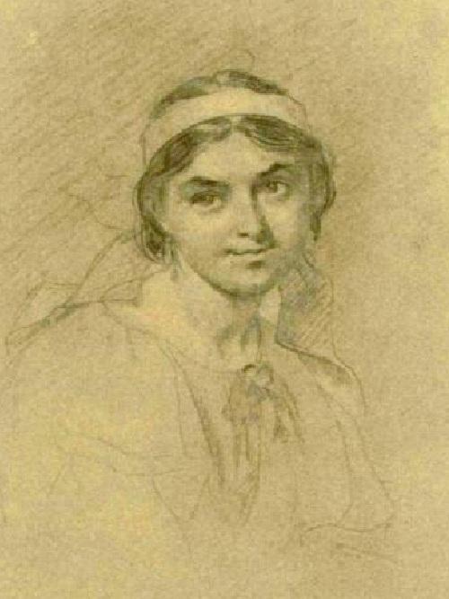 Лукерья Полусмак. (1860). Автор: Т. Шевченко